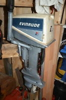 Evinrude Outboard Motor (8hp)