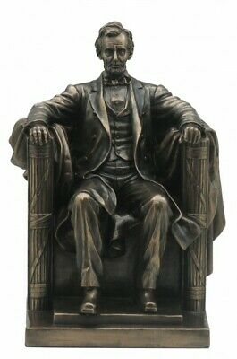 Abraham Lincoln 16.US Präsident bronziert Figur Skulptur