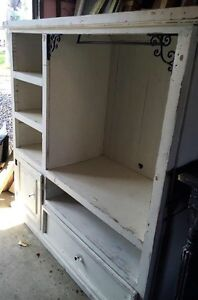 Upcycled shabby chic cabinet