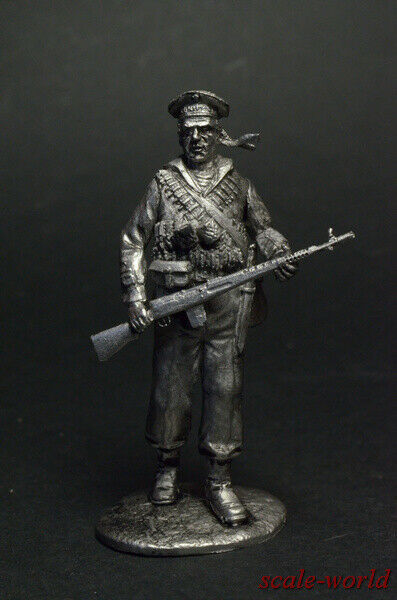 Tin soldier figure USSR Marine 54 mm