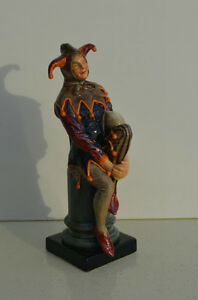 'The Jester' Royal Doulton RARE RETIRED Large Figurine HN 2016