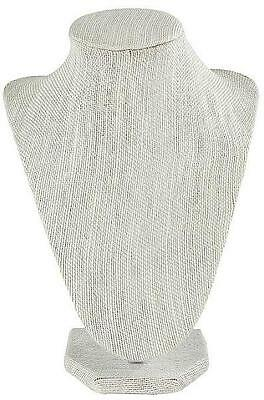 New Darice 2025-439 Necklace Stand Display In Linen Finish 8.5-inch