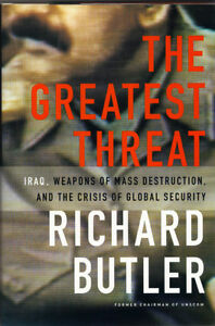 The Greatest Threat - Richard Butler West Island Greater Montréal image 1