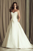 Wedding Dress - 2015 Size 14-16 Reduced Price