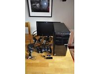 ASUS Desktop PC c/w Monitor and accessories