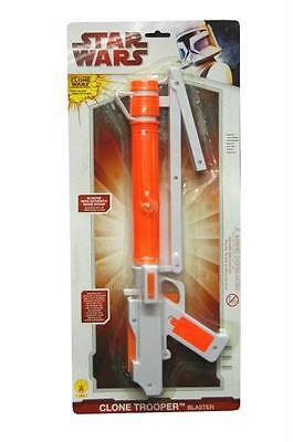 STAR WARS CLONE TROOPER BLASTER GUN REPLICA COSTUME PROP RU8299