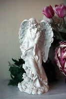 Large Garden Angel Polystone Upcycled