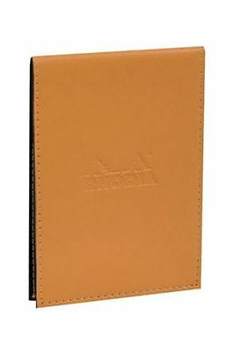 Rhodia Pad Holder Orange 3.75 X 5.25 Graph Notepad