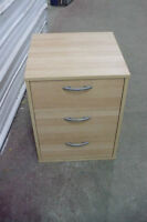 3 Drawer Small Dresser Cabinet Used Furniture Tan Bedroom