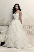 Paloma Blanca 4363 Wedding Dress