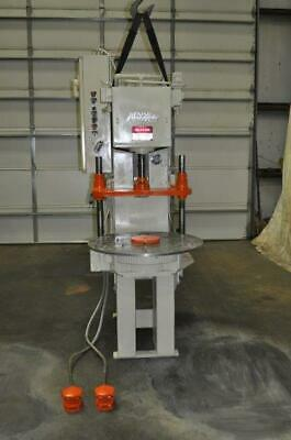 6 Ton Denison Hydraulic Press With 6 Station Rotary Table 12 Stroke 30 Dayligh