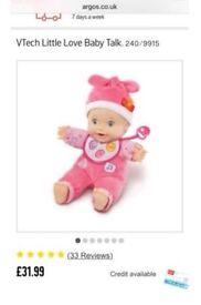 VTech little love baby talk interactive doll
