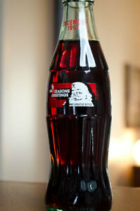 BOUTEILLE COMMEMORATIVE SEASONS GREETINGS COCA-COLA