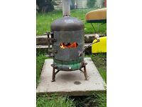 Garden and Patio wood burning stove