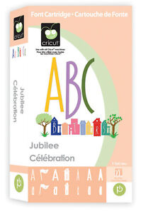 Cricut Jubilee font Cartridge - $39