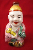 Various Chinese Rose Famille/JingDeZhan Character Snuff Bottles