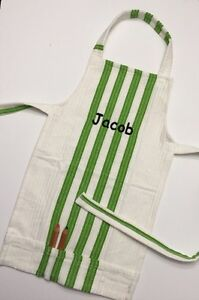 Personalized Kids craft aprons