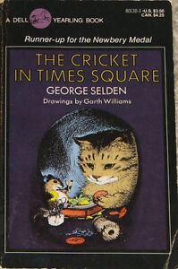 The Cricket In Times Square Paper Back Book