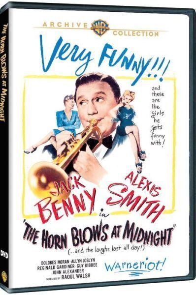 HORN BLOWS AT MIDNIGHT - (1945 Jack Benny) Region Free DVD - Sealed