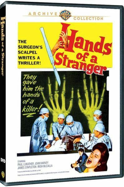 HANDS OF A STRANGER - (1960 Paul Lukather) Region Free DVD - Sealed