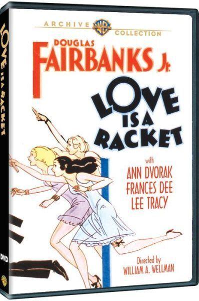 LOVE IS A RACKET - (1932 Douglas Fairbanks Jr.) Region Free DVD - Sealed