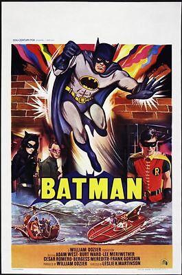 1966 Batman Belgian Poster (14