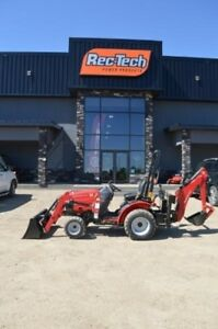 2016 Mahindra Max 24 4WD HST with Back Hoe