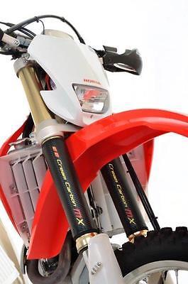 125 Faseroptik (Kohlenstoff Faser Optik Motocross Gabelprotektoren - Yamaha Yz250 Yz125 Yz85)