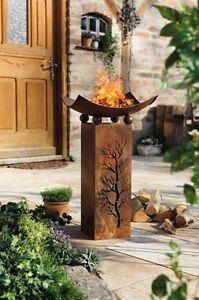 Säule Pflanzsäule Feuersäule