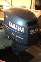 Boat motor - 15 hp Yamaha four stroke
