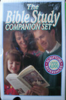 BIBLE STUDY COMPANION SET, 5 vol set, Brand new