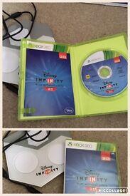 Disney infinity Xbox 360 Game, figures package