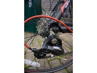 Nearly new road bike for sale