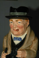 Winston Churchill Royal Doulton  Large Toby Jug