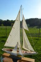 Big Schooner Model Boat