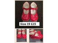 Girls shoes different sizes & prices