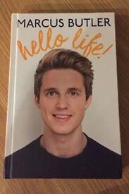 "Brand new Marcus Butler ""hello life""book"