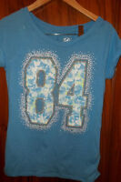 Girls Justice Top and Leggings - EEUC - Sz 12
