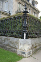 Custom Hand Forged Steel Railings, Gates, Security by Iron Art