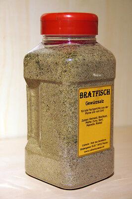 Bratfisch Gewürzsalz in 1000ml Dose Inhalt 750g Fischgewürz Werksverkauf  (Fisch Salz)