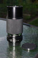 Petax Compatible Lenses / Lentilles Compatibles Pentax