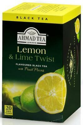 Ahmad Tea - Lemon & Lime Twist - 20 Teebeutel à 2g