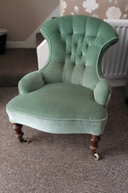 genuine low level vintage chair