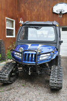 NewPrice-UTV TRACKS,TIRES WITH A.C. RIMS,PLOUGH HARD CAB