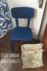 Chalk Painted occasional chair