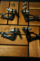 Freins Cantilever Tektro Sets (front + rear brakes) BLACK