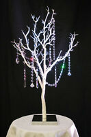 Wedding  Centerpieces White Tree with crystals