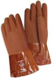 "WORKHORSE® 14"" PVC GLOVE WITH DOUBLE COATED PALM, ONE SIZE"