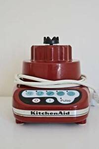 KITCHENAID 5-SPEED BLENDER MODEL 5KSB52AER4 BASE ONLY EMPIRE RED Adelaide CBD Adelaide City Preview
