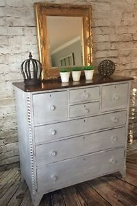 Beautiful farmhouse antique dresser